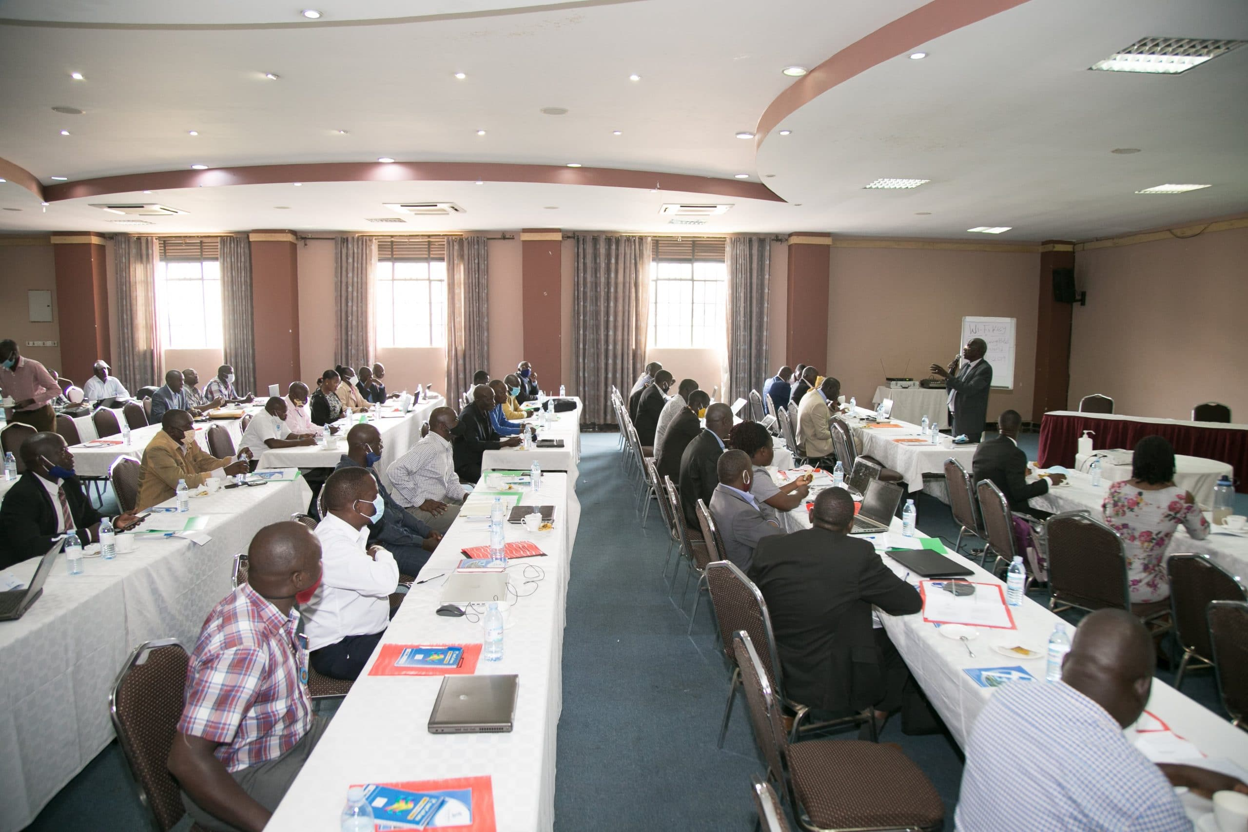 Training of Ministry of Local Government unregistered Engineers employed in the District and Municipalities to equip them with necessary skills of writing both Career and Technical Reports required for professional registration on Thursday 15th - Friday 16th October 2020.