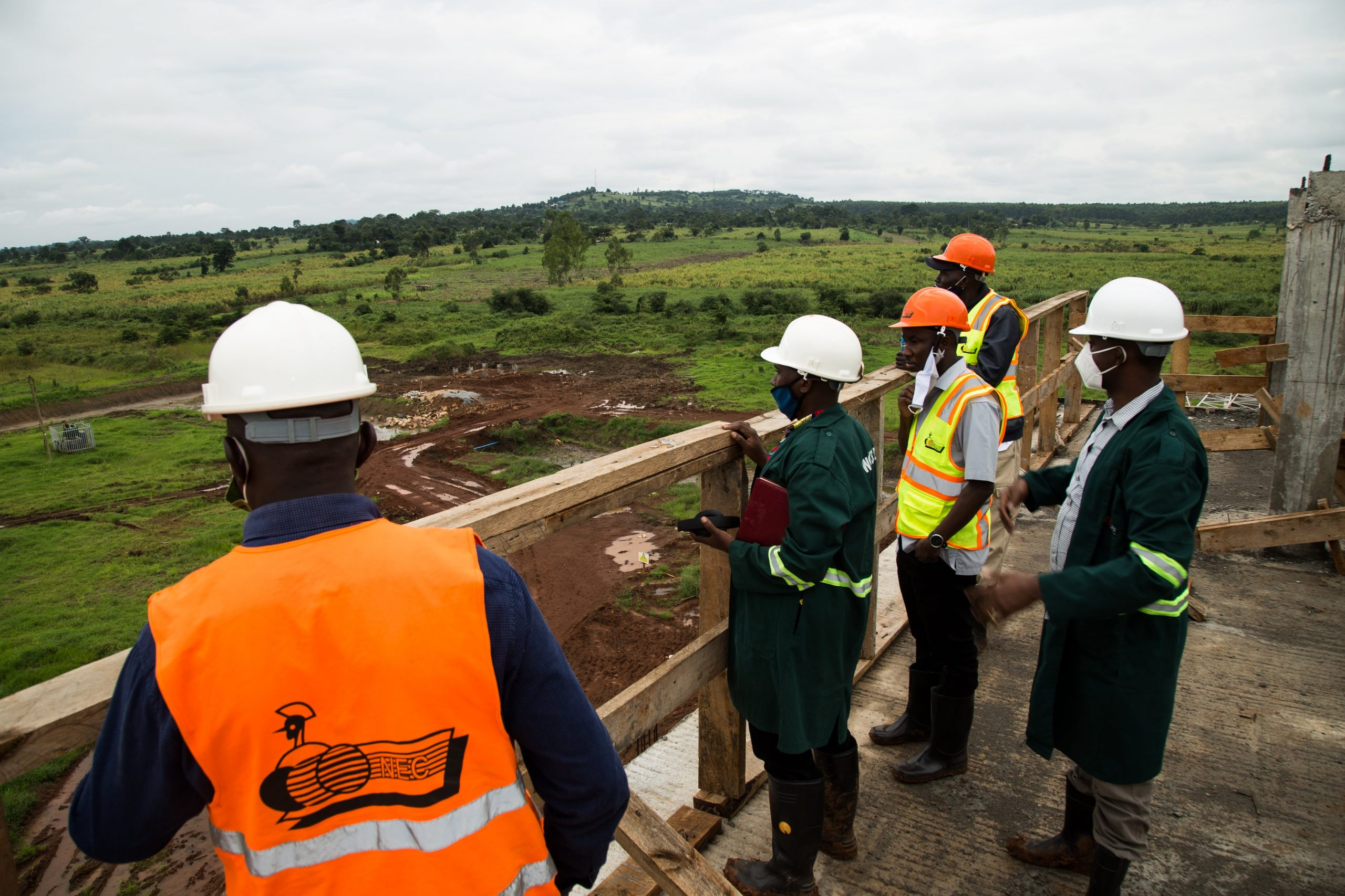 ERB and Kiira Motors Corporation information and stakeholder engagement visit to the Kiira Vehicle Plant Site, at the Jinja Industrial and Business Park on Saturday 17th October 2020.