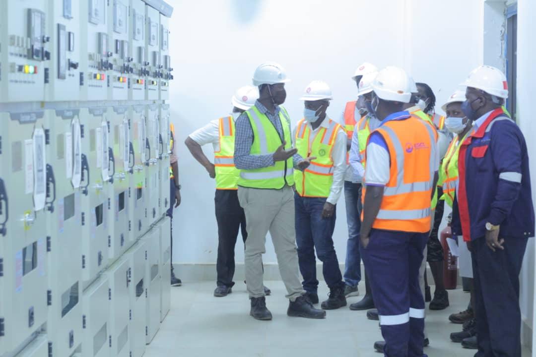 ERB Visit to Karuma Hydro Power Project on 27th November 2020