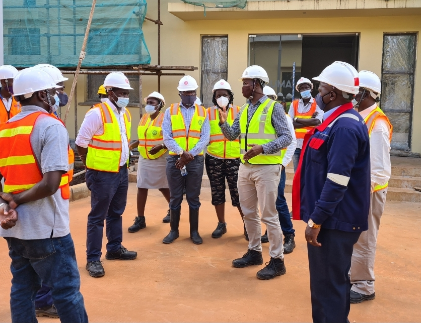 ERB Visit to Karuma Hydro Power Project on 27th November 2020