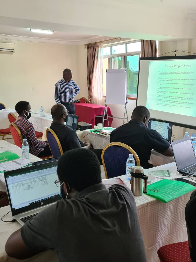 ERB Training of Kiira Motors Corporation Unregistered Engineers to Equip them With the Necessary Skills of Writing both Career and Technical Reports Required for Professional Registration on Thursday 10th - Friday 11th December 2020.
